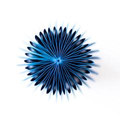 Nieuw perspectief (RobinVOG) Tags: macro canon plastic fantastic cassina design folded angle 5d mark ii nederland blauw blue interior paperfolding white