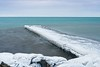 Ice Covered Grimsby Pier- (otterman51) Tags: canada grimsby lakeontario landscape ontario ortbaldauf rock cold colour colours ice lake nature niagara ortbaldaufcom outdoors photography pier rocky rockyshoreline seascape snow winter