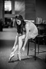 Angelic Ballerina (David A. Barnes) Tags: leica leicam leicaglow leicammonochromtyp246 noctiluxm50mmf095asph noctiluxm pointeshoes ballerina balletdancer wings blackandwhite blancoynegro noiretblanc biancoenero schwarzundweis bokeh