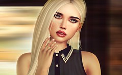 If you are sad... add more lipstick and attack...( Coco Chanel)....... ( it works.... trust me :)....) (catcatalina) Tags: aviglam shinyshabby supernatural michan lyrium ebento