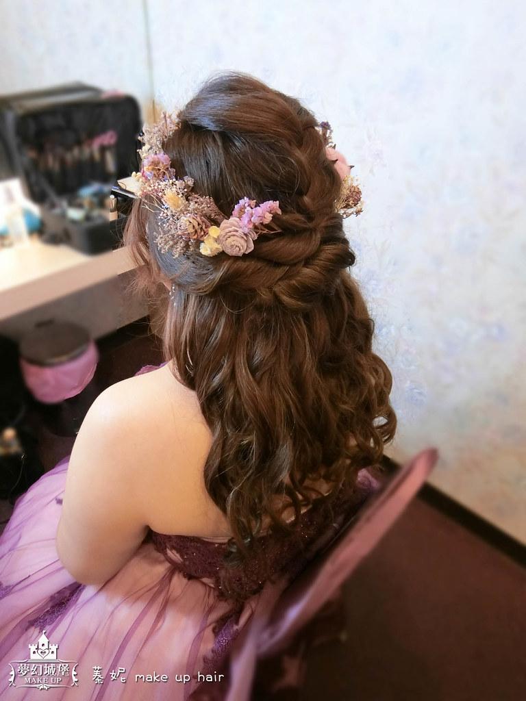 【新秘蓁妮】bride妙君 歸寧造型 / 大里菊園婚宴會館