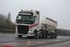Volvo FH4 'N.S. Clarke Transport Ltd' reg DX15 JXG (erfmike51) Tags: volvofh4 truck artic tanker euro6 lorry nsclarketransport