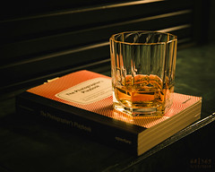 Day 68 | Ideas (JL2.8) Tags: book whiskey photography canon 6dmk2 project365 365 photochallenge