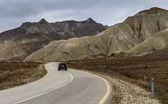 Xizi Mountains (emilqazi) Tags: khizi azerbaijan mountains hill landscape valley driving road car automobile vehicle transport travel
