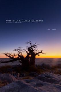 Kubu Island, Makgadikgadi Pan