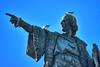 Christopher Columbus & the revenge of the seagulls (Fnikos) Tags: port park parc bird gaviota gavina seagull monument architecture statue outdoor