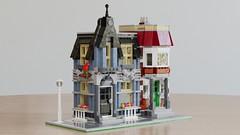 Mr. Groove's Pet Shop - Alternative build for 10218 Pet Shop (BrickJonas) Tags: lego modular building buildings moc contest