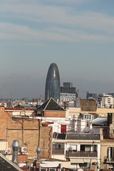 036A4854 (zet11) Tags: casa milà la pedrera barcelona españa catalonia street architecture buildings passeig de gracia 92 antoni gaudí gaudi sk torre agabar