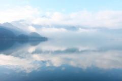 wrooom (bkellerstrass) Tags: lettherebelight flickrfriday herzogstand kochel kochelsee reflection alps