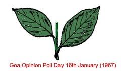 Two leaves (joegoauk73) Tags: joegoauk goa opinion poll day