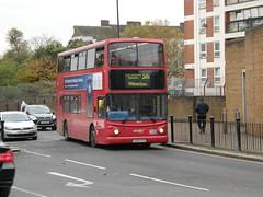 9822 - LG52 XYZ. Formally numbered TA122. (wagn1) Tags: dennistrident alexanderalx400bodywork abellio abelliolondon travellondon nationalexpress connex connexbus transportforlondon tfl londontransport londonbuses buses canadawater london