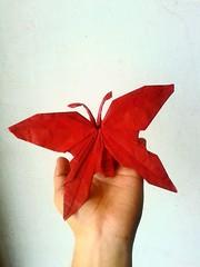 Butterfly NS 2.0 - Satoshi Kamiya (javier vivanco origami) Tags: butterfly ns 20 satoshi kamiya javier vivanco origami ica peru
