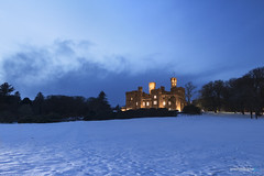 Wintry Castle (gmrphoto) Tags: canon photography nature scotland isleoflewis outerhebrides eos landscape stornoway clouds storm snow lewscastle winter dramaticsky castle bluehour winterwonderland dramaticlighting