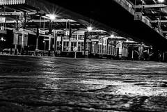 Sleaford train station (Objektiv187) Tags: sleaford lincolnshire nikon nikond80 railway 2018 new blackandwhite black white photo dark light lightrooms silverefex night photography