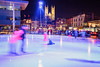 Guelph City Hall Skating Rink (Olivera White) Tags: guelph nightphotography ontario cold winter