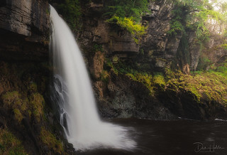 Thornton Force, one of the many falls along the Ingleton Waterfall Trail