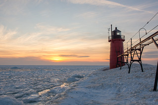 Sunset at South Haven, MI - EXPLORED #230