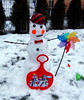 Snowman Greetings  ❄️❄️❄️️️ (swetlanahasenjäger) Tags: schneeman januar winter saariysqualitypictures coth fotografíavisión thegalaxy coth5