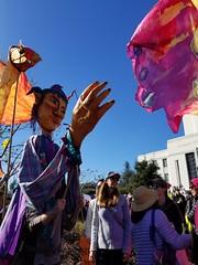 Giant puppets (quinn.anya) Tags: giantpuppet womensmarch womensmarchoakland womensmarch2018