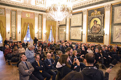 Cardinale19 (Genova città digitale) Tags: genova cardinale angelo bagnasco vescovo arcivescovo comune sindaco visita inizio anno marco bucci gennaio 2018 palazzo tursi