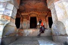 Caves of Khandagiri (chinmaymohapatra) Tags: khandagiri caves ancient odisha jain