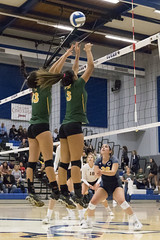 2017 CCCAA Women's Volleyball State Championships – Quarterfinals, College of the Canyons vs. Feather River (davidmoore326) Tags: volleyball championship cccaa state tournament solano photo photography image dslr canyons featherriver fairfield california unitedstatesofamerica
