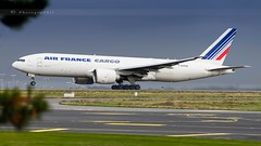 AIR FRANCE B777-F28 (lavierphilippephotographie) Tags: freighter cargo b777 b77f boeing cdg roissy longhaull longcourrier plane airplane airliner airlines airfrance airfrancecargo aviation