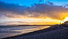 On the beach (Peter Leigh50) Tags: sea seaside seascape beach shore sky skyscape clouds afternoon weymouth bay pebble sand fujifilm fuji xt10 dorset winter january