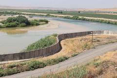 Turkey-Syria Barrier (wgauthier) Tags: turkey syria wall barrier border tigris river turkish kurdish syrian
