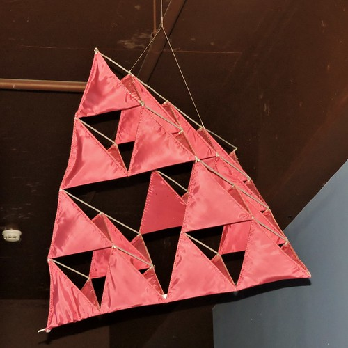 Tetrahedral kite, invented by Alexander Graham Bell