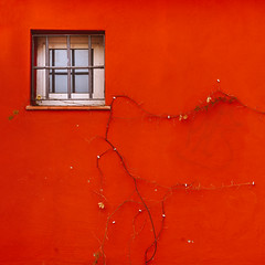 Geometría Urbana (Pablo S.O.) Tags: wall window sony ilobsterit color square simple red