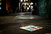 Roll the dices (j.borras) Tags: roll dices parchis night street photography 30mm barcelona