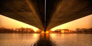 Hatertsebrug bridging the Maas-Waal Canal, Nijmegen.