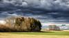 snow-free (++sepp++) Tags: bayern clouds deutschland landscape landschaft landschaftsfotografie lechfeld wolken graben de winter bäume trees bavaria germany