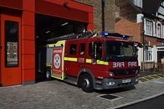 AE07 HVS (markkirk85) Tags: london fire brigade station dockhead lfb engine appliance londons burning mercedes benz atego dpl1259 e341 ae07 hvs ae07hvs