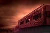 House on fire (Ben_Coffman) Tags: pacificnorthwest bencoffman bencoffmanphotography infrared infraredarchitecture oregon pdx pdxarchitecture portland portlandarchitecture