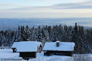 View from Frognerseteren, Oslo
