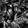 Les (John Ilko) Tags: 500px cowboy stage vintage stagecoach fujifilm xe2 18mm blackwhite monochromeg