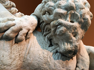 Lion attacking a horse - Capitoline Museums.
