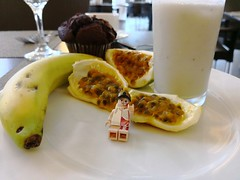 What I eat every morning in DomRep (Alex THELEGOFAN) Tags: lego legography minifigurine minifig dominican republic