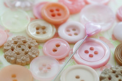 Buttons (JMS2) Tags: buttons pink macro closeup pin sewing notions canon