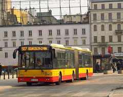 Solbus Solcity SM18LNG, #7331, MZA Warszawa (transport131) Tags: bus autobus mza warszawa ztm warsaw wtp solbus solcity sm18lng