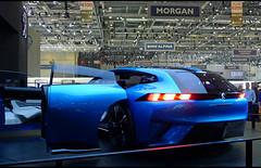 Peugeot Instinct concept (baffalie) Tags: auto voiture ancienne vintage classic old car coche retro expo suisse sport automobile racing motor show collection club swiss genève