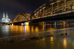 Rhein Hochwasser Köln 2018