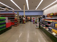 Closer look at the newly-painted blue wall (l_dawg2000) Tags: 2018remodel cordova delicatesen grocery grocerystore healthbeauty kroger labelscar marketplace meats memphis pharmacy produce remodel retail scriptdécor shelbycounty supermarket tennessee tn trinitycommons cordovamemphis unitedstates usa