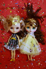 ICY doll and Blythe tbl