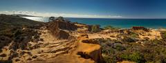 Broken Hill (PhotoJacko - Jackie Novak) Tags: torreypines sandiego california stateparks nature landscape panoramic cliffs