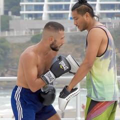DSCN1573 (danimaniacs) Tags: sydney austrlia bondibeach man guy hot sexy shirtless beard scruff boxer fighter spar