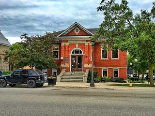 Elora - Ontario - Canada -   The Elora Branch of the Wellington County Library System - Heritage Building