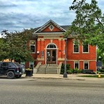 Elora - Ontario - Canada -   The Elora Branch of the Wellington County Library System - Heritage Building thumbnail